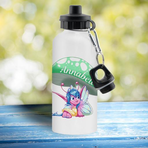 Pixie White Water Bottle