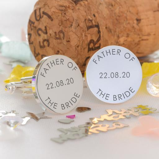 Father of the Bride or Groom Cufflinks