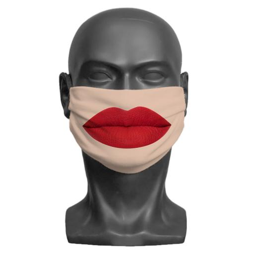 Lips Adult Face Mask