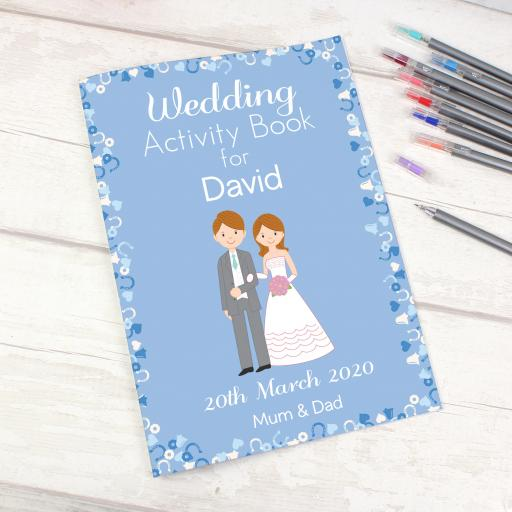 Wedding Activity Book for Boys