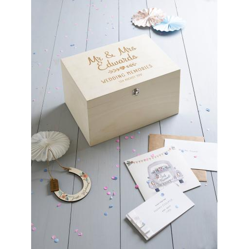 Mr & Mrs Memory Box