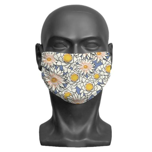 Flowers Adult Face Mask