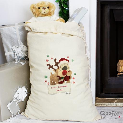Boofle Reindeer Cotton Sack