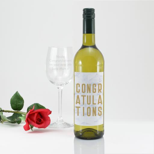 Congratulations Wine Gift Set