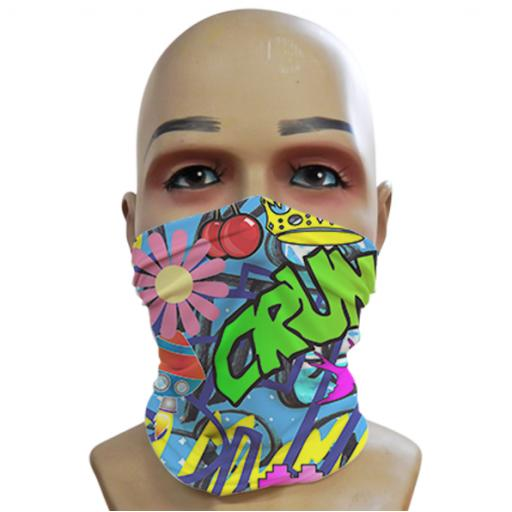 Acid Graffiti - Blue - Mini Snood