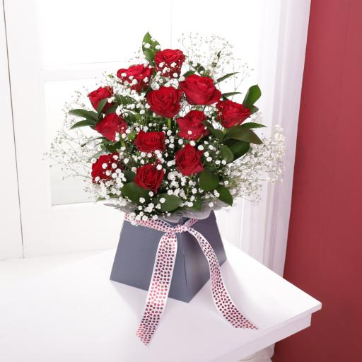 Red Rose Calypso Arrangement