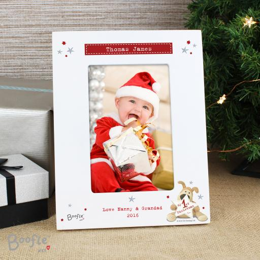 Boofle My 1st Christmas Photo Frame
