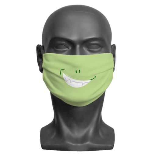Little Monster Children's Face Mask (Green)
