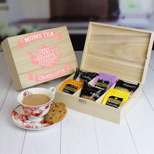 Mums Tea & Biscuit Chest