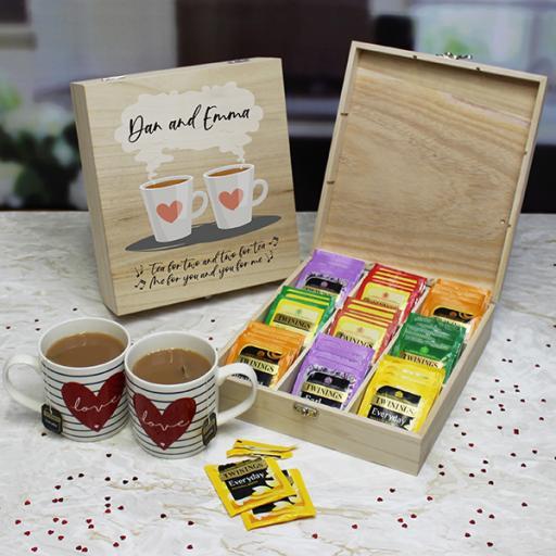 Tea for two - 9 Compartment storage box