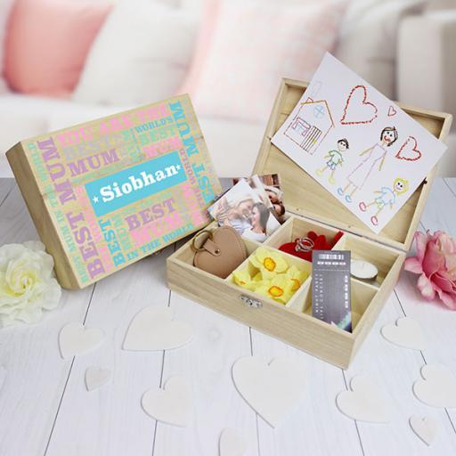 Best Mum Keepsake Box