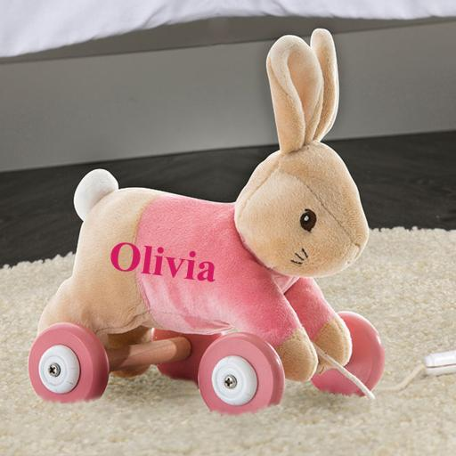 Flopsy Personalised Pull Along Toy