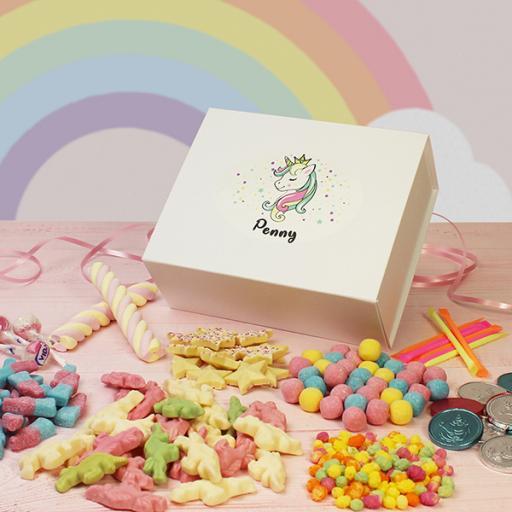 Unicorn Sweets Box