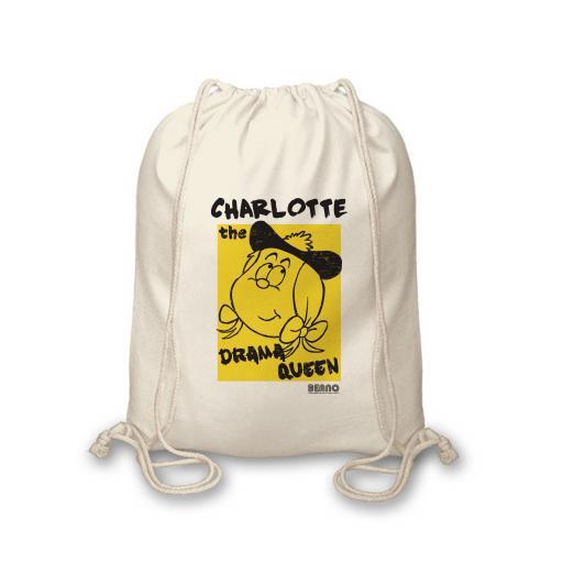 Beano Big Heads Minnie Drawstring Bag