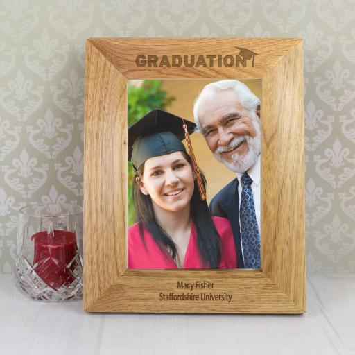 Wooden Graduation Photo Frame