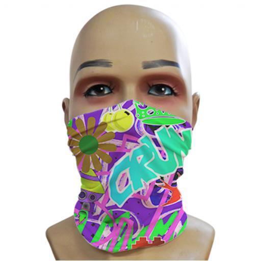 Acid Graffiti - Purple - Mini Snood