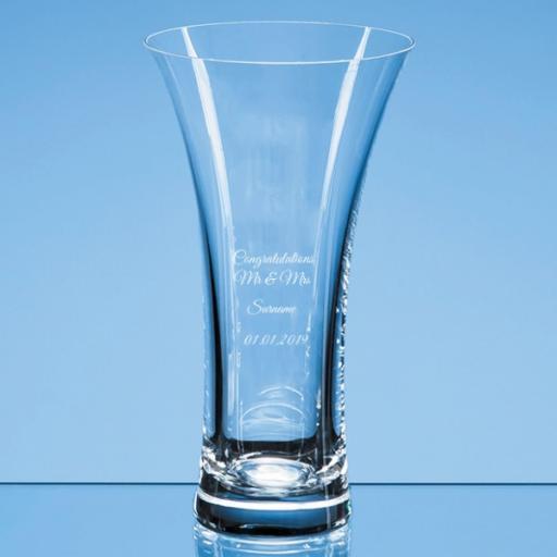 Personalised Trumpet Vase