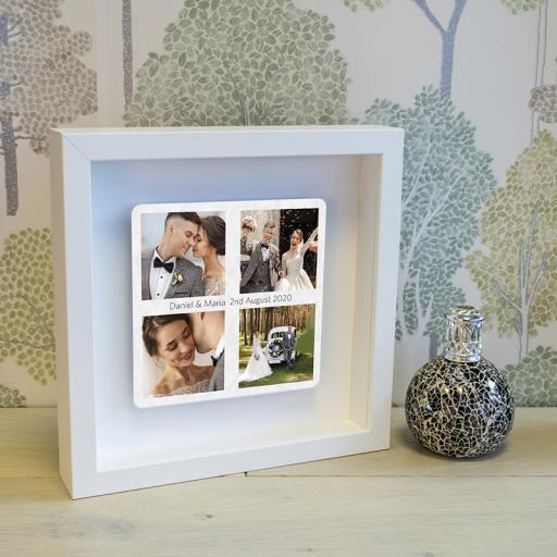 Favourite Photos Floating Metal Box Frame