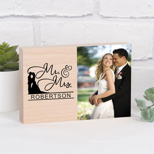 Mr & Mrs Photo Block
