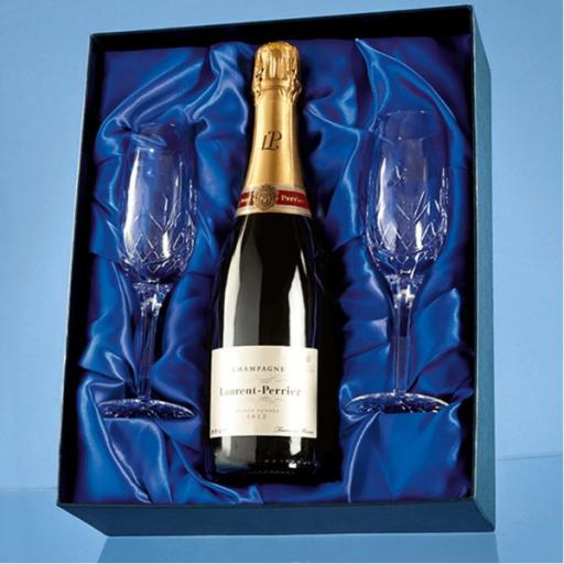 Blenheim Champagne Flute Gift Set