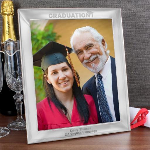 Graduation Silver Photo Frame