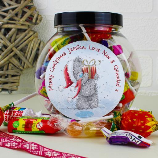 Me to You Christmas Bear Sweet Jar