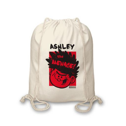 Beano Big Heads Dennis Drawstring Bag