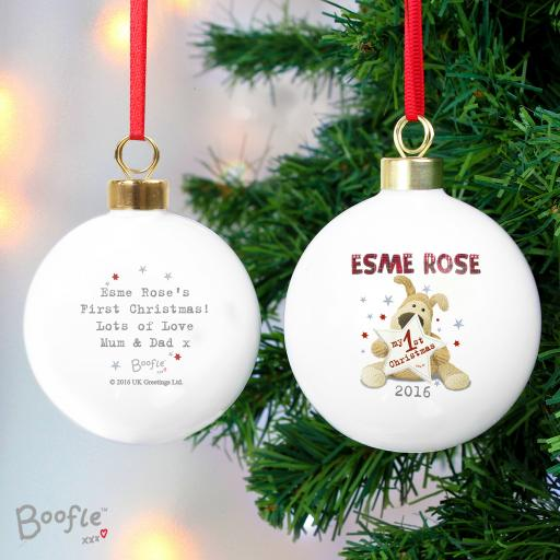 Boofle My 1st Christmas Bauble