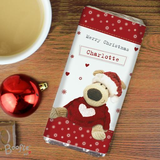 Boofle Christmas Love Chocolate Bar