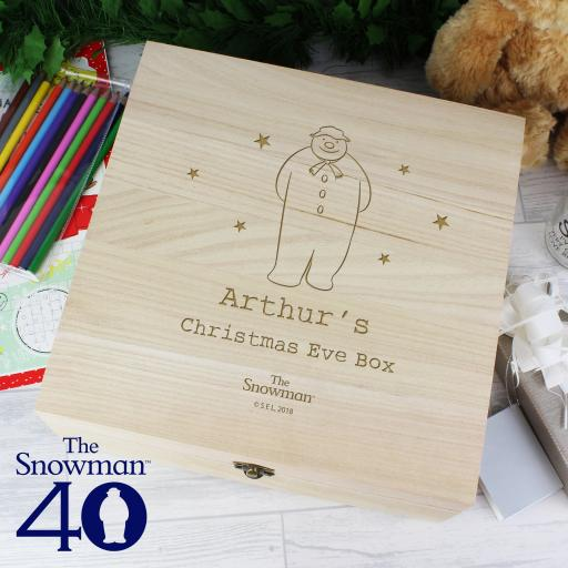 The Snowman Personalised Christmas Eve Box
