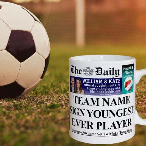 The Daily Youngest Signing Mug