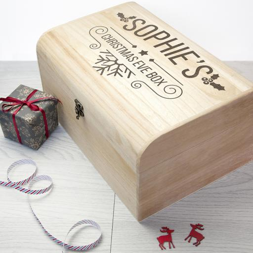 Personalised Christmas Eve Chest - Large