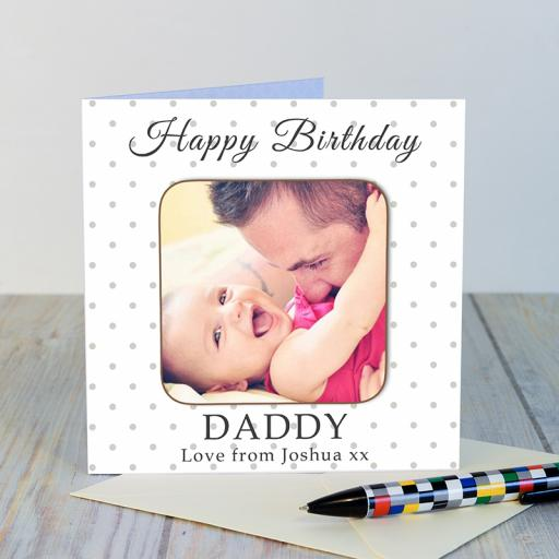 Happy Birthday Coaster Card