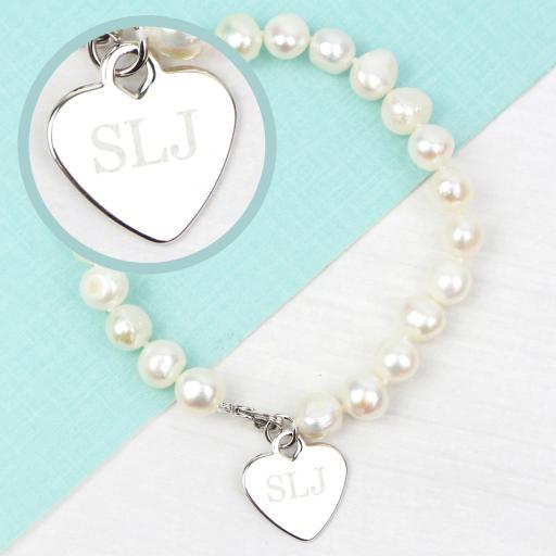 Personalised Freshwater Pearl Bracelet