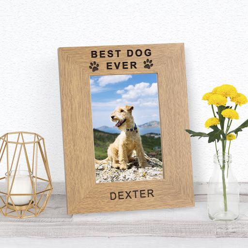 Best Pet Ever Photo Frame