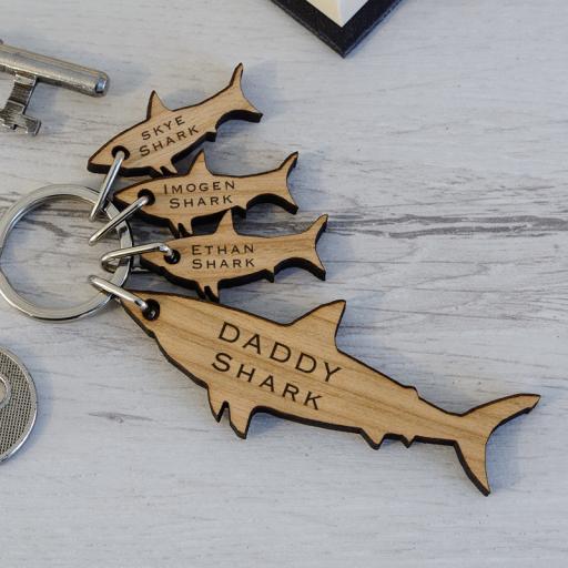 Sharks Key Ring