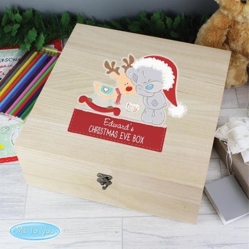 Personalised Tiny Tatty Teddy Christmas Eve Box