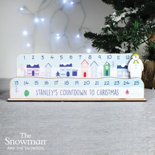 Make Your Own The Snowman Christmas Countdown Kit