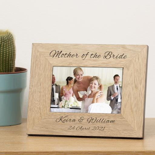 Wedding Parents Photo Frame