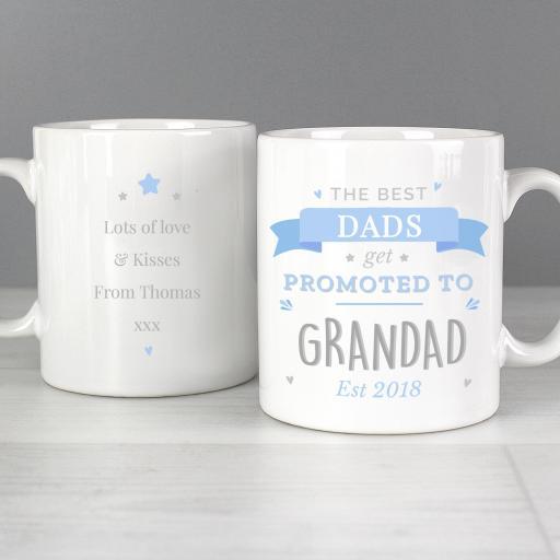 Personalised Promoted to Mug