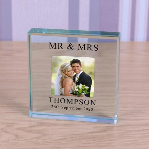 Glass Token - Wedding