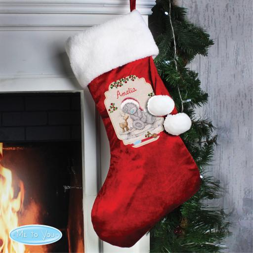 Me To You Personalised Stocking