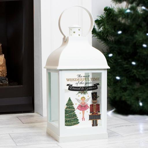 Personalised Nutcracker Lantern
