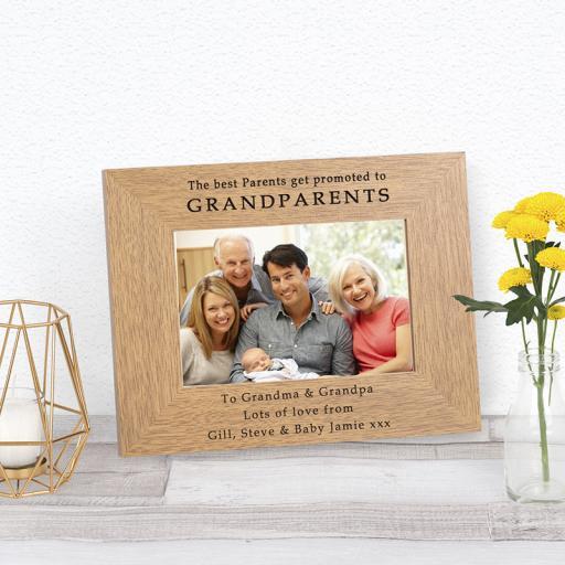 Grandparents Photo Frame