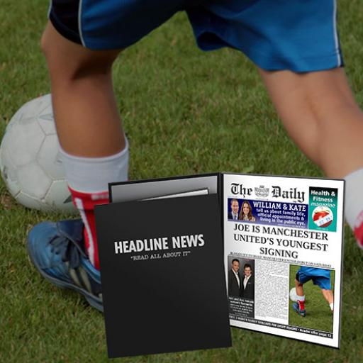 The Daily Youngest Signing News Folder - Male