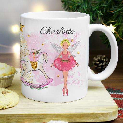 Personalised Sugar Plum Fairy Mug