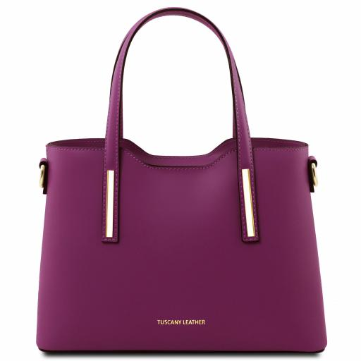 Olimpia Leather tote - Small size