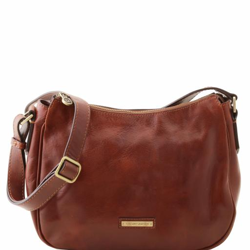 Cristina Leather shoulder bag