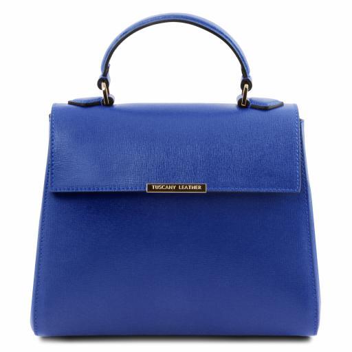 TL Bag Small Saffiano leather duffel bag