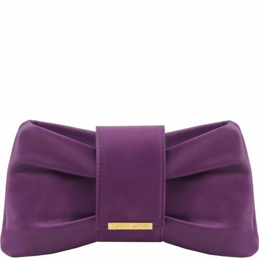 Priscilla Clutch leather handbag